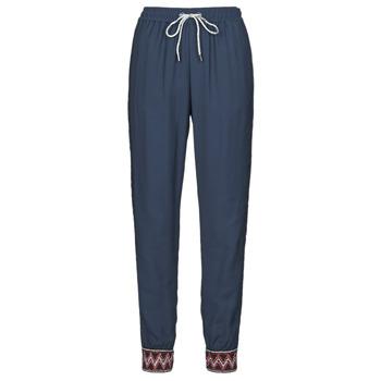Textiel Dames Losse broeken / Harembroeken Desigual ISABELLA Marine