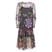 Textiel Dames Lange jurken Desigual PORTLAND Multikleuren