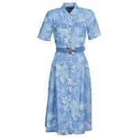 Textiel Dames Lange jurken Desigual KATE Blauw