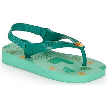 Schoenen Kinderen Slippers Havaianas BABY DISNEY CLASSICS II Groen