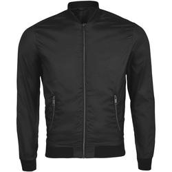 Textiel Heren Wind jackets Sols ROSCOE BOMBER MEN Negro