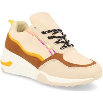 Schoenen Dames Lage sneakers Festissimo 881 Beige