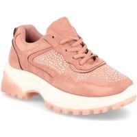 Schoenen Dames Lage sneakers Festissimo F9016 Rosa