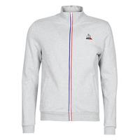 Textiel Heren Trainings jassen Le Coq Sportif ESS FZ Sweat N°2 M Grijs / Chiné