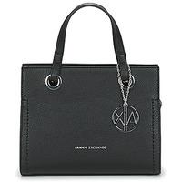 Tassen Dames Handtassen kort hengsel Armani Exchange MEYLANI Zwart