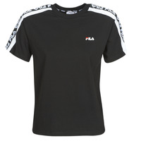 Textiel Dames T-shirts korte mouwen Fila TANDY Zwart