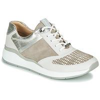 Schoenen Dames Lage sneakers JB Martin 1KALIO Beige / Wit / Zilver