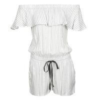 Textiel Dames Jumpsuites / Tuinbroeken Deeluxe FAYME Wit / Blauw