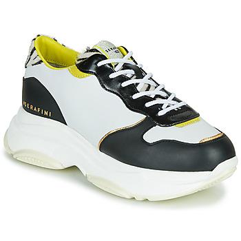 Schoenen Dames Lage sneakers Serafini BROOKLYN Wit / Zwart