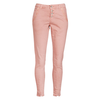 Textiel Dames Straight jeans Cream CALINA Roze