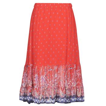 Textiel Dames Rokken Cream NALITA Rood