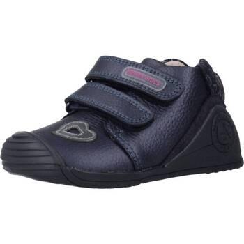Schoenen Meisjes Lage sneakers Biomecanics 191125 Blauw