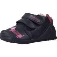 Schoenen Meisjes Lage sneakers Biomecanics 191129 Blauw