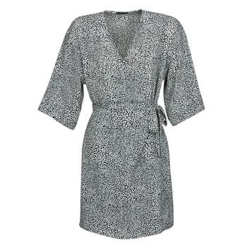 Textiel Dames Korte jurken Ikks BQ30415-03 Zwart / Wit