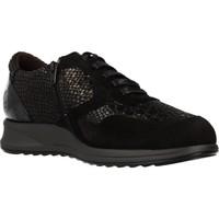 Schoenen Dames Lage sneakers Mateo Miquel 3885M Zwart