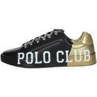 Schoenen Dames Lage sneakers Beverly Hills Polo Club PC107 Black/Gold