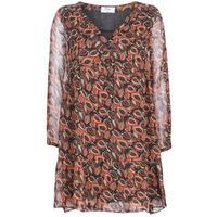 Textiel Dames Korte jurken Betty London LETICIA Zwart / Rood