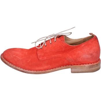 Schoenen Dames Derby Moma BR966 Rouge