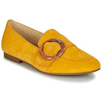 Schoenen Dames Mocassins Gabor  Geel