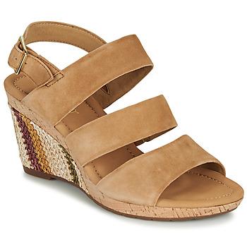 Schoenen Dames Sandalen / Open schoenen Gabor KARAMBA Brown
