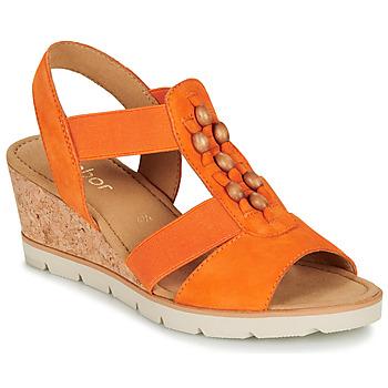 Schoenen Dames Sandalen / Open schoenen Gabor KALINA Orange