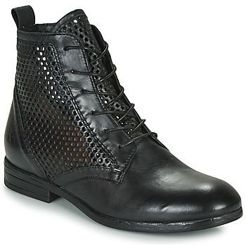 Schoenen Dames Laarzen Dream in Green MARLO Zwart