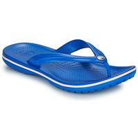 Schoenen Slippers Crocs CROCBAND FLIP Blauw