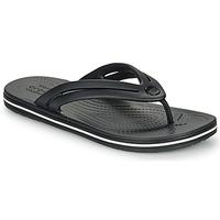 Schoenen Dames Slippers Crocs CROCBAND FLIP W Zwart
