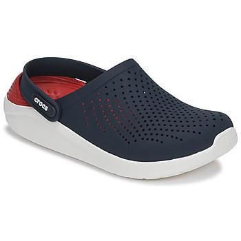 Schoenen Klompen Crocs LITERIDE CLOG Marine / Rood