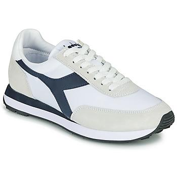 Schoenen Lage sneakers Diadora KOALA Wit / Blauw