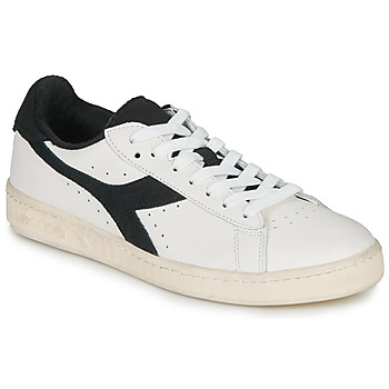 Schoenen Lage sneakers Diadora GAME L LOW USED Wit / Zwart