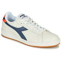Schoenen Heren Lage sneakers Diadora GAME L LOW Beige / Blauw