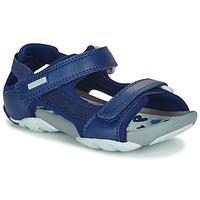 Schoenen Kinderen Sandalen / Open schoenen Camper OUS Blauw / Marine