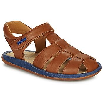 Schoenen Kinderen Sandalen / Open schoenen Camper BICHO Brown / Marine
