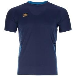 Textiel Heren T-shirts korte mouwen Umbro  Blauw