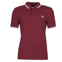 Textiel Heren Polo's korte mouwen Fred Perry TWIN TIPPED FRED PERRY SHIRT Bordeaux