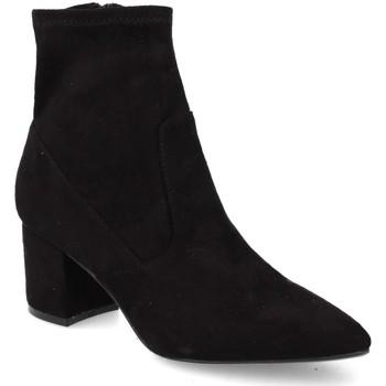 Schoenen Dames Enkellaarzen Prisska JL8223 Negro