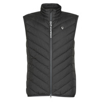 Textiel Heren Dons gevoerde jassen Emporio Armani EA7 TRAIN CORE SHIELD M DOWN LIGHT VEST Zwart