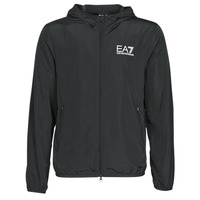 Textiel Heren Windjacken Emporio Armani EA7 TRAIN CORE ID M JACKET Zwart