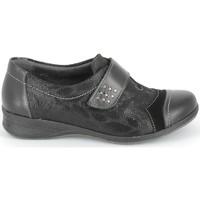 Schoenen Derby & Klassiek Boissy Derby 7510 Noir Texturé Zwart