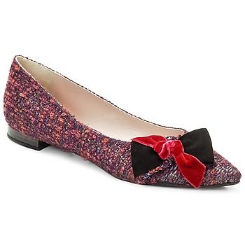 Schoenen Dames Ballerina's Magrit Rosy Knot Multicolour / Roze