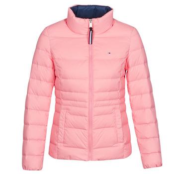 Textiel Dames Dons gevoerde jassen Tommy Jeans MODERN DOWN JKT Roze