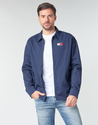 Textiel Heren Wind jackets Tommy Jeans TJM COTTON JACKET Marine