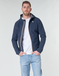 Textiel Heren Wind jackets K-Way JACK BONDED Marine