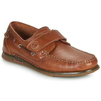Schoenen Heren Bootschoenen Fluchos POSEIDON Brown