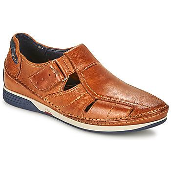 Schoenen Heren Sandalen / Open schoenen Fluchos JAMES Brown / Marine / Rood