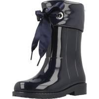 Schoenen Meisjes Regenlaarzen Igor W10114 Blauw