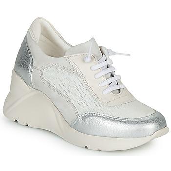 Schoenen Dames Lage sneakers Hispanitas TOKIO Wit / Zilver