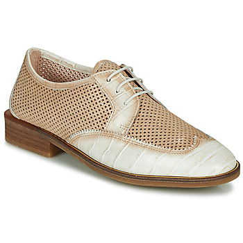 Schoenen Dames Derby Hispanitas LONDRES Beige / Wit