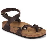 Schoenen Dames Sandalen / Open schoenen Birkenstock YARA LEATHER Brown